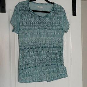 Marmot patterned womens cut t shirt